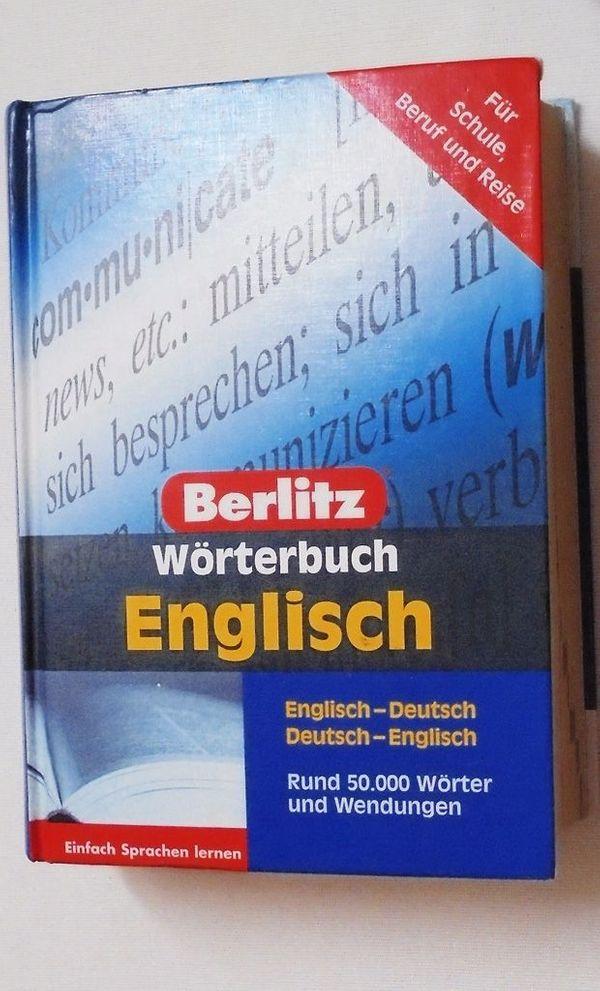 Berlitz Wörterbuch Englisch ISBN 9783468731617