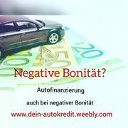 Autokredit bei negativer Schufa