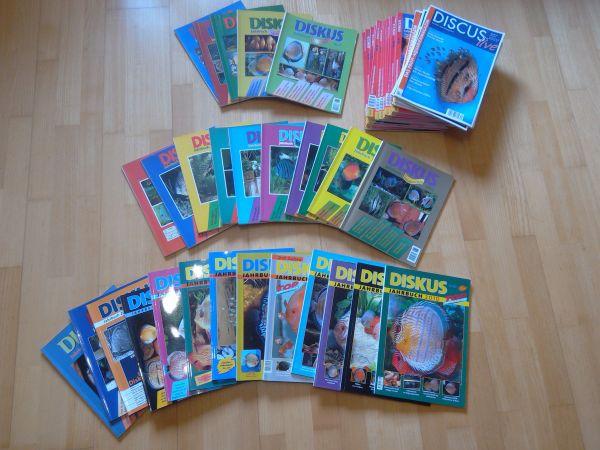 Diskus Jahrbücher und » Fische, Aquaristik