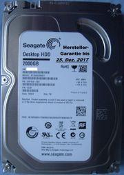 2TB Seagate Desktop