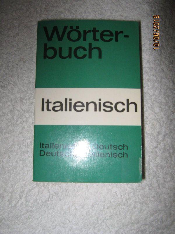 WÖRTERBUCH FÜR DEN ITALIENURLAUB -) TASCHENBUCH FÜR UNTERWEGS - Berlin Wilmersdorf - Fremdwörterbuch, Italienisch-Deutsch, Deutsch-Italienisch, 8,5 cm breit, 13 cm hoch (passt in jede Tasche), unbenutzt, AUS NICHTRAUCHERHAUSHALT! AN SELBSTABHOLER! KEINE RÜCKNAHME,DA PRIVATVERKAUF! - Berlin Wilmersdorf