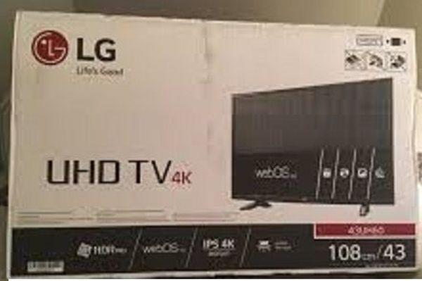 LG 43 UH » TV, Projektoren
