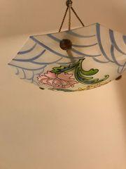 Französische Art Deco LEMIERE Deckenlampe