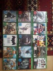 Xbox one Spiele Sammlung riesig