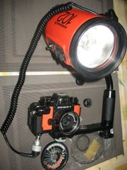 Nikonos V orange,