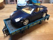 LGB 41100 Autotransport Niederbordwagen Porsche