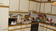 Küche und Pflegebett