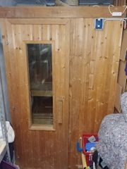 kompakte Sauna zu verkaufen