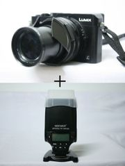PANASONIC DMC-LX100 NEEWER SPEEDLITE NW320