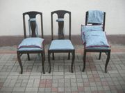 3 Ältere Stühle neu überzogen