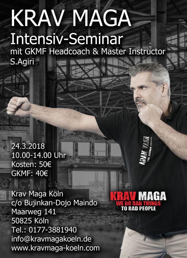 KRAV MAGA Selbstverteidigung - Intensiv-Seminarr Sa, 17.03.2018