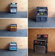 vintage jukebox Musikbox cd Vinyl