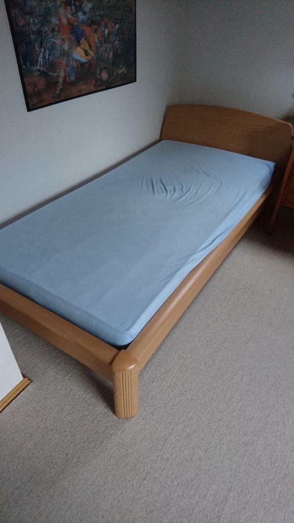 Gut Erhaltenes Bett 100200 In Königsbach Stein Betten Kaufen Und