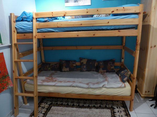 hochbett etagenbett gebraucht kaufen nur 2 st bis 75 g nstiger. Black Bedroom Furniture Sets. Home Design Ideas
