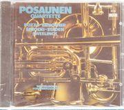 Westfälisches Posaunenquartett - Posaunen Quartette CD