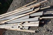 Holz Baureste