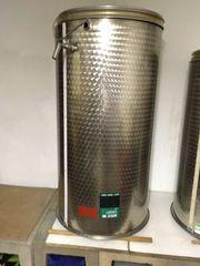 Weinfass Edelstahl 700 L immervoll