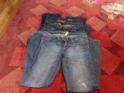 3 gebrauchte Jeans