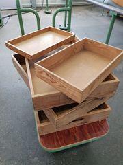 Kisten aus Holz diverse Ausführungen