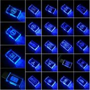 USB-STICK Auto-Logo in Blauen LED-Licht