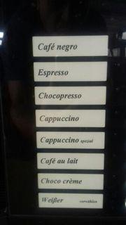 Spengler Kaffeeautomat