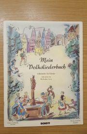 Mein Volksliederbuch Volkslieder für Klavier