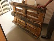 Sehr stabile Holzpalette zu verschenken