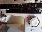 Koffer- Nähmaschine, Singer