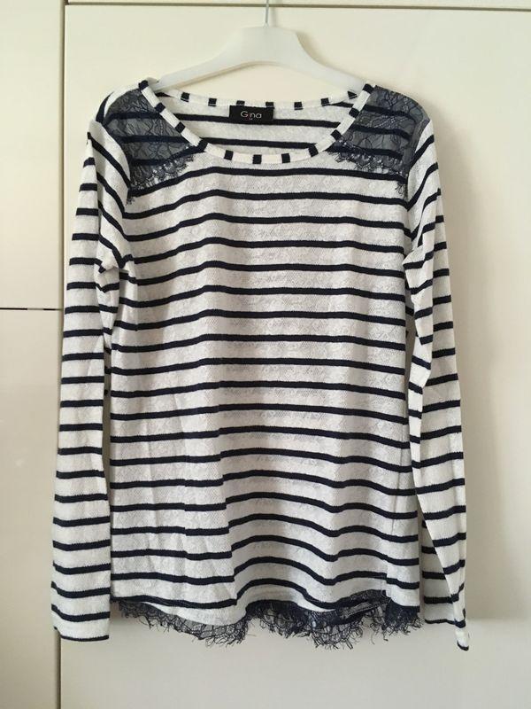 52699396bc6657 Pullover Größe 38 Shirt Damen marine Pulli in Augsburg ...