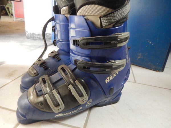 Skischuhe Größe 29 = 45. 5 - Kuppenheim - Verkaufe Skischuhe der Größe 29, entspricht der Größe 45.5in Farbe blau, zerkratzt, für Anfänger geeignet, daher zum günstigen Preis - Kuppenheim