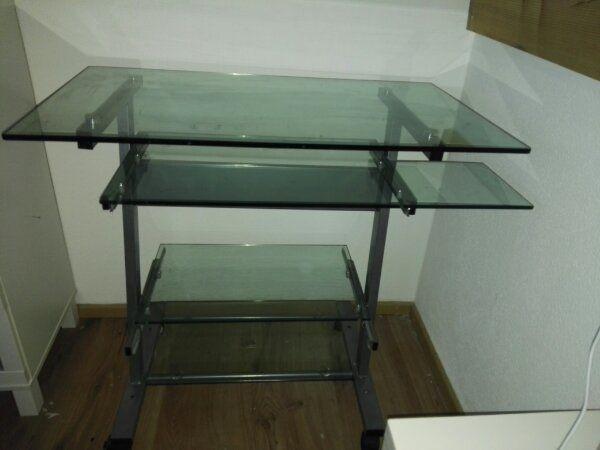 Glas Schreibtisch in Lenggries - Büromöbel kaufen und verkaufen über ...