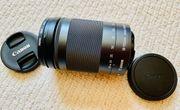 Canon EOS EF-M 18-150 22mm