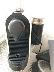 Nespresso Krups mit Milchschäumer