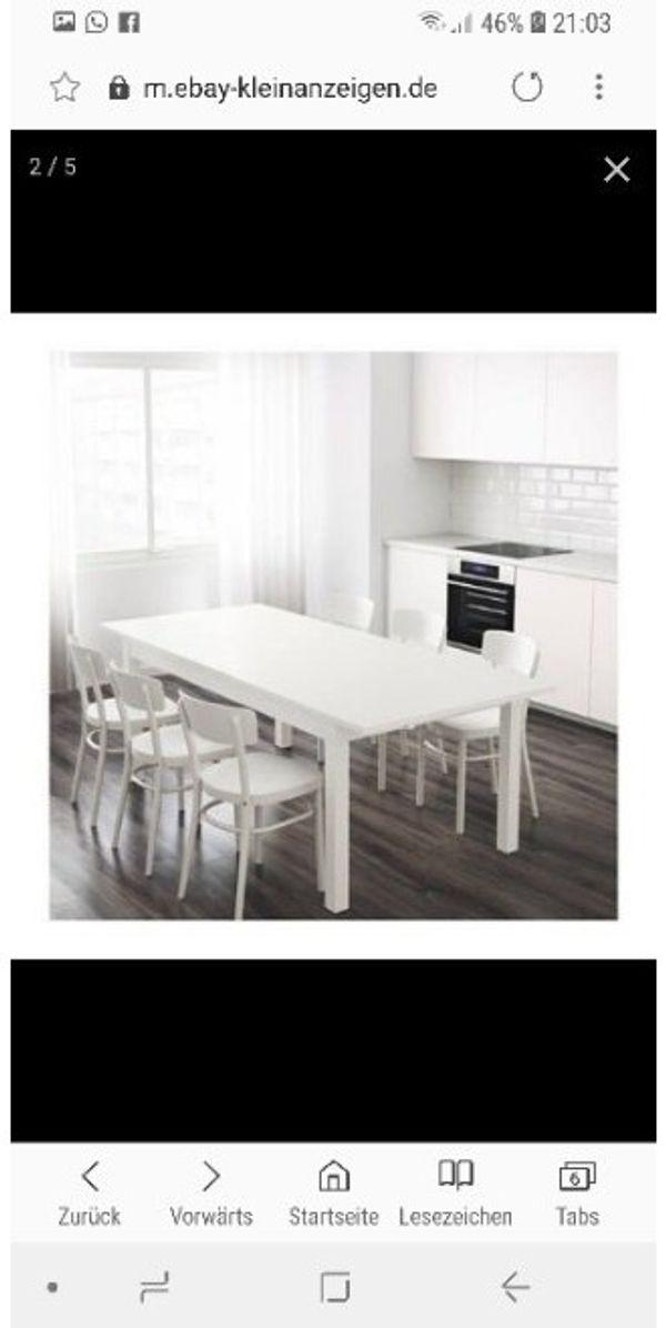 Ikea Esstisch günstig gebraucht kaufen - Ikea Esstisch verkaufen ...