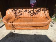 Echte Leder Couch Farbe Cognac