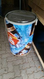 Flaschenkühltonne, Kühltruhe, Kühlfass