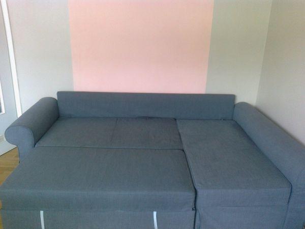 Ikea 3er Ecksofa Mit Schlaffunktion Neuwertig In Bergisch Gladbach