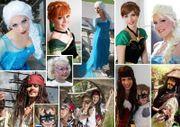 Prinzessinnenparty - Piratenparty - Hexenparty