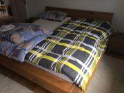 Schlafzimmer, Massivholz, komplett