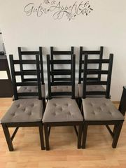 6x Esszimmer Stühle