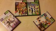 Xbox 360 kinect spiele games