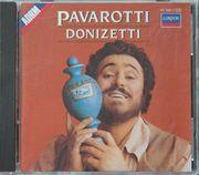 LUCIANO PAVAROTTI-DONIZETTI CD gebraucht-sehr gut