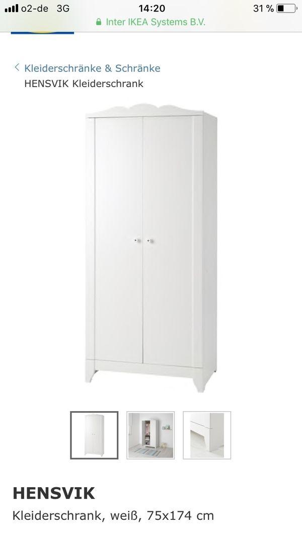 Schrank weiß ikea kinder  Ikea Kinderkleiderschrank in München - Kinder-/Jugendzimmer kaufen ...
