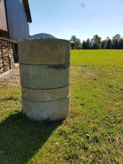 Betonrohre für Regenwasserversickerung