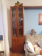Wohnzimmermöbel Kirsch zu verschenken ohne