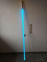 Neonröhre Blau für