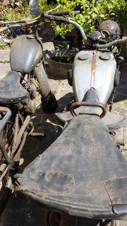 Motorräder Oldtimer