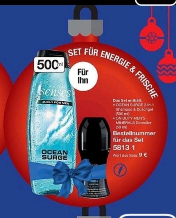 2 teile set nur 3 - Ziesar - Avon set zu verkaufen 3 Weihnacht geschenk idealPer Überweisung DHL Versend - Ziesar