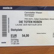 Tote Hosen Ticket