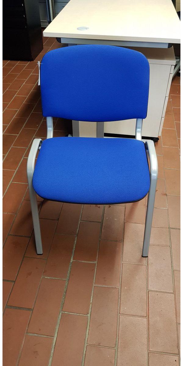 Besprechungsstuhl In Blau In Wuppertal Buromobel Kaufen Und